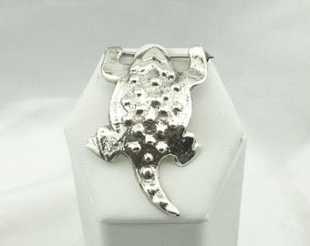 Vintage Horned Toad Sterling Silver Brooch/Pin  #HORNTOAD-BR1