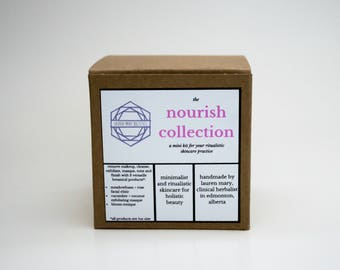 The Nourish Collection Kit for Dry, Dehydrated Skin