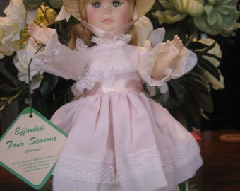 """Effanbee's Four Seasons Doll Collection """"Summer"""" DOLL mint conditon 1981 14 inches tall"""