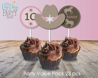 Pony Party Printable Value Pack, Instant Download