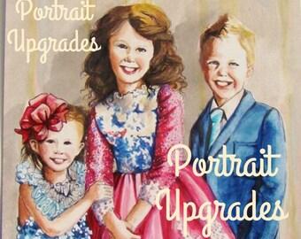 Add On to your Portrait**   Pets   Multiple Children   Rush Order   Script   Enlargements