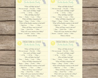 Printable Baby Shower or Sprinkle Game,  Made to order, color options, Yellow, funny, Downloadable, Neutral, Boy, Girl, Baby, Elephant, Sun