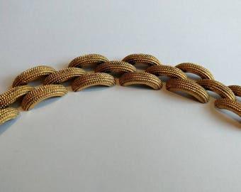 Vintage Monet bold bracelet