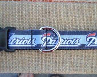 """1"""" wide NFL Dog Collars"""