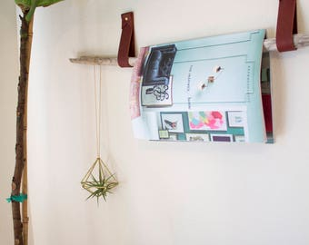 Magazine rack straps | Etsy