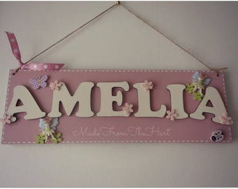 Personalised Bedroom Door Plaques...any theme