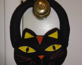 Halloween Cat Door Handle Decor