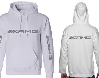 amg hoodie etsy. Black Bedroom Furniture Sets. Home Design Ideas