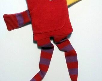 Red blanket: strange bird of the Islands