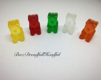 Gummy Bear Keychain, Charms, or Beads