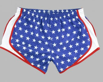 Merica Running Shorts/ USA Shorts/ America Shorts