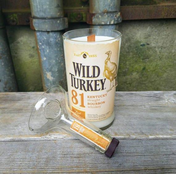 Wild Turkey Bourbon Upcycled Soy Candle