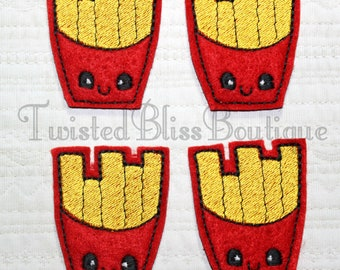 Set Of 4 Fries Felties