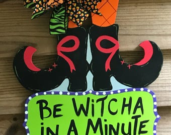 Witches Feet Door Hanger