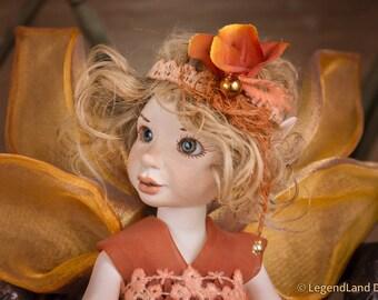 Fairy doll Gift For Mom Present For Mom art doll fairy dolls home decor fairy figurine porcelain doll handmade doll LIMITED EDITION