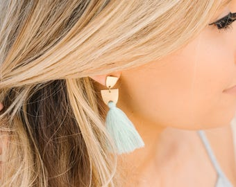 The Long Tassel {Baby Blue}