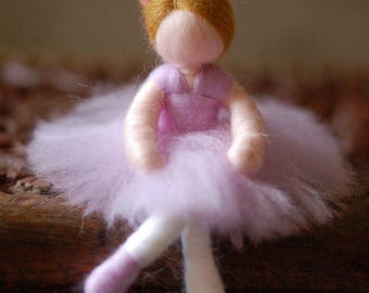 Mohd, ballerina, Wool fairy tale, Waldorf inspiration