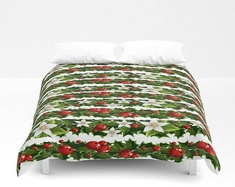Christmas Comforter Christmas Duvet Cover  Christmas Bedding