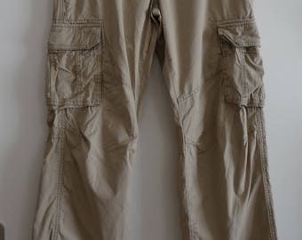 Pants beige lattice CHEVIGNON size 40