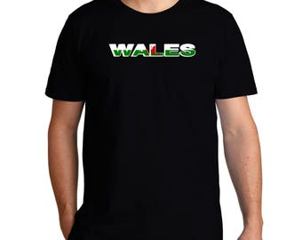 Wales Country Flag T-Shirt