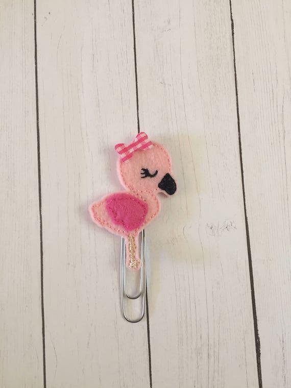 Summer Flamingo Planner Clip/Planner Clip/Bookmark. Flamingo Planner Clip. Summer Planner Clip. Animal Planner Clip