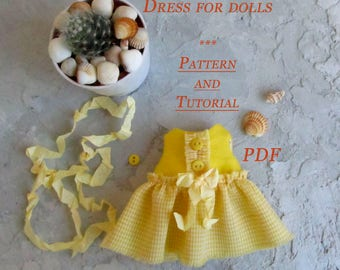 Lerika Doll - Textile Doll - Doll Patterns - Tilda Doll Clothes - Sewing Patterns - Rag Doll Pattern - Pattern Doll - Blank Doll Body - Doll
