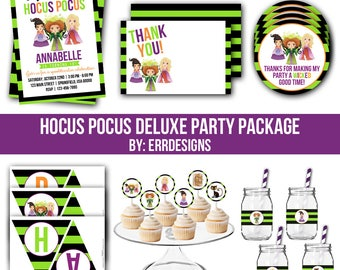 Hocus Pocus Party Package, Hocus Pocus Invitation, Hocus Pocus Birthday, Hocus Pocus Party, Hocus Pocus Birthday Party