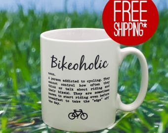 Cycling Mug - Bikeoholic