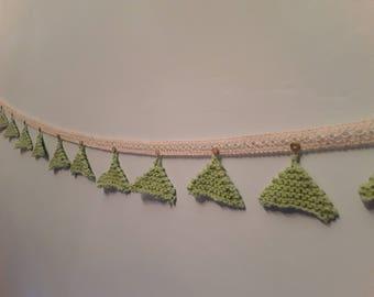 Christmas tree bunting/garland
