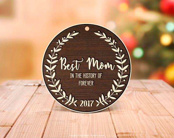 Mom Ornament New Mom Gift Personalized Christmas Ornaments Christmas Gifts for Mom Baby Shower Gift Mama Ornament Christmas Decorations 26