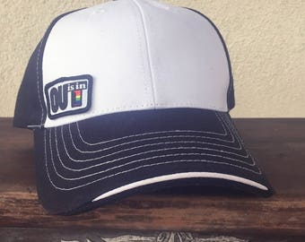 OUT is in USA Trucker Cap, Black and White cap,Pride trucker cap, Lesbian cap, LGBTQ baseball cap, Trucker hat, Gay Pride cap
