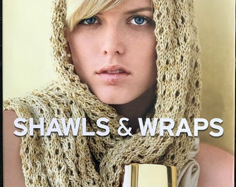 Shawls and Wraps, Vogue Knitting, Hardcover book