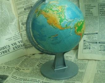 World globe vintage world map retro world globe student atlas vintage small globe small world globe old globe vintage world globe desk gumiabroncs Image collections