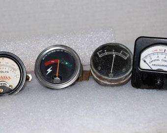 Electric Panel Meters/Car/Crystal Radio + All work!