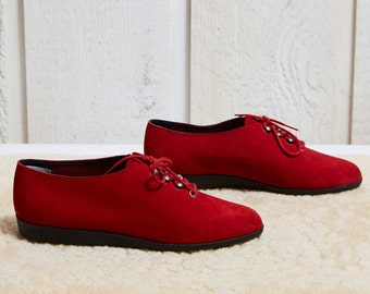 Spats Patterened Suede Shoes