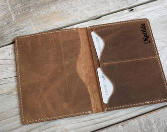 Leather Passport Cover, Passport Holder , Gifts For Travelers, Travel Gifts, Passport Leather Pouch, Passport Cover, Vacation Gifts