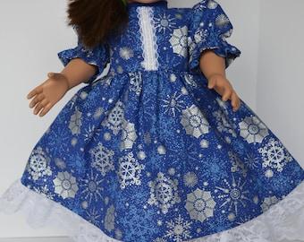 SIlver Snowflakes Dress