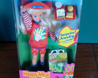 Mattel Happy Meal Stacie Barbie Doll