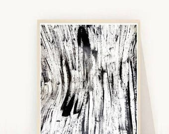 Minimalist Print, Black and White Wall Art, Abstract Print, Printable Wall Art,  Instant Download, Home Decor, Wall Decor, Ink Art