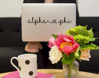 Alpha Phi Laptop Yetti Camelbak Decal