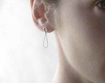 Drop earrings, teardrop raindrop earrings, boho earrings, bohemian earrings, bridal earrings.