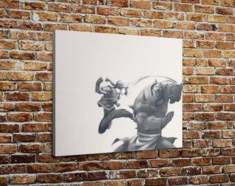 """Full Metal Alchemist - Brothers Print On Canvas (20"""" x 24"""" x 1.5"""")"""