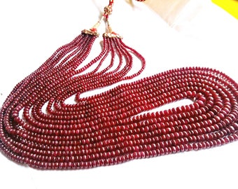 Ruby Beads Natural