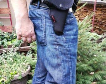 Makarov  Belt Slide Right Hand Holster Black cordura holster