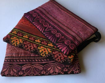 Ancient fabric Meo Thailand bags