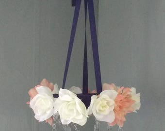 MADE TO ORDER- Flower Chandelier