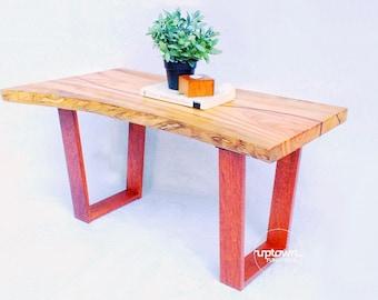 Slab coffee table/coffee table/wood coffee table/reclaimed wood coffee table/slab timber natural edge furniture/reclaimed wood furniture