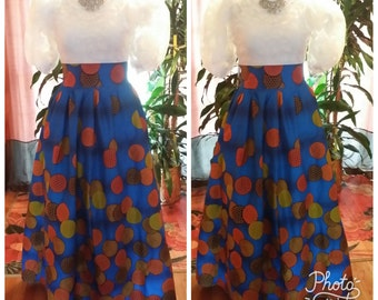 African clothing Maxi skirt