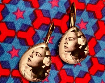 Earrings - Billie Holiday