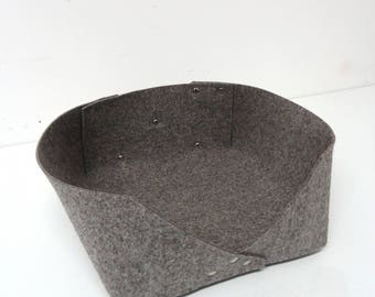 Modern cat felt bed- NO PILLOW -Minimal design, cats and small dogs, animalove
